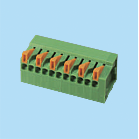 BC141R-XX-P5 / Screwless PCB terminal block - 5.08 / 7.62 mm