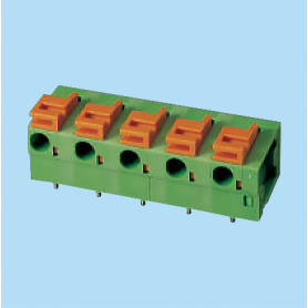 BC142R-XX-P3 / Screwless PCB terminal block - 5.08 / 7.62 mm