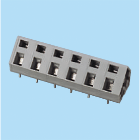 BCWKA750 / Screwless PCB terminal block Spring Clamp - 7.50 mm