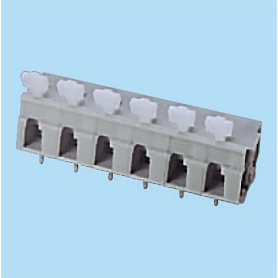 BCWKR750A / Screwless PCB terminal block Spring Clamp - 7.50 mm