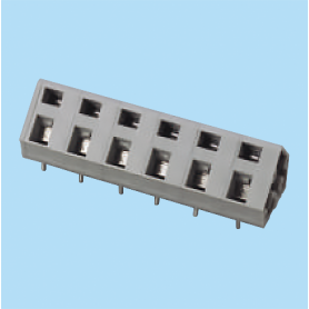 BCWKA762 / Screwless PCB terminal block Spring Clamp - 7.62 mm