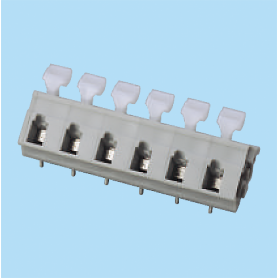 BCWKA762A / Screwless PCB terminal block Spring Clamp - 7.62 mm