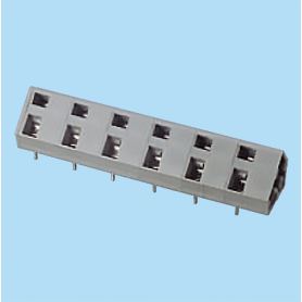 BCWKA116 / Screwless PCB terminal block Spring Clamp - 10.16 mm