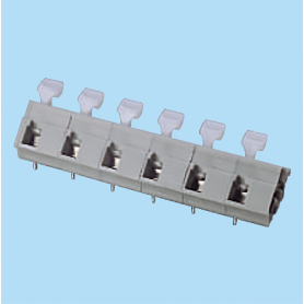 BCWKA116A / Screwless PCB terminal block Spring Clamp - 10.16 mm