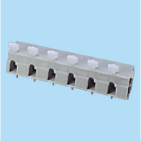 BCWKR116A / Screwless PCB terminal block Spring Clamp - 10.16 mm