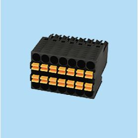 BC0156-1BXX-BK / Plug pluggable PID - 2.54 mm