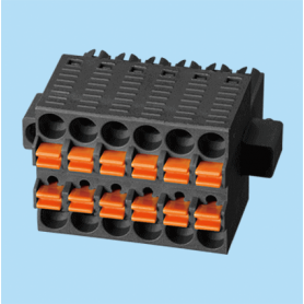 BC01562A / Plug and socket terminal block c-cage - 3.50 mm