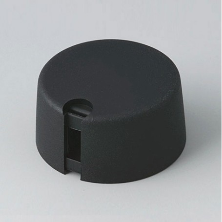 A1031049 / TOP-KNOBS 31 - PA 6 - nero - 31x16mm 4mm