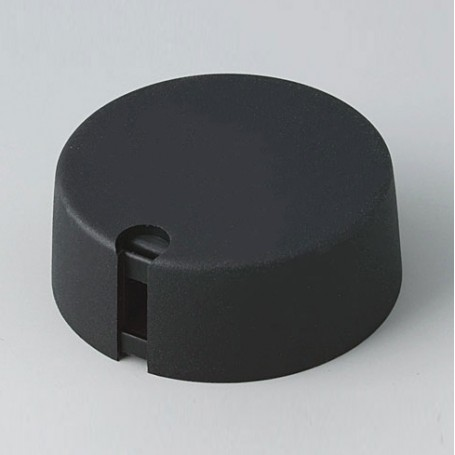 A1040639 / TOP-KNOBS 40 - PA 6 - nero - 40x16mm  1/4″