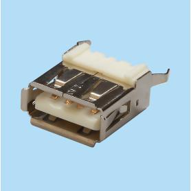5602 / Conector hembra recto USB - Tipo A