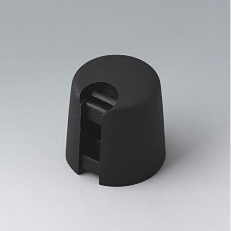 A1016649 / TOP-KNOBS 16 - PA 6 - nero - 16x16mm