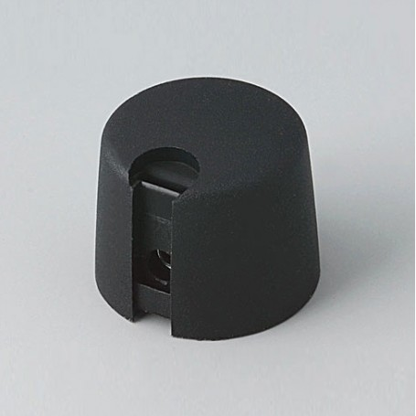 A1020649 / TOP-KNOBS 20 - PA 6 - nero - 20x16mm