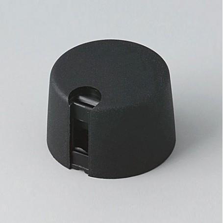 A1024649 / TOP-KNOBS 24 - PA 6 - nero - 24x16mm