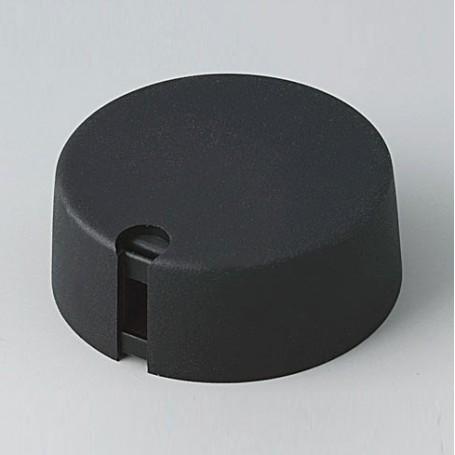 A1040649 / TOP-KNOBS 40 - PA 6 - nero - 40x16mm