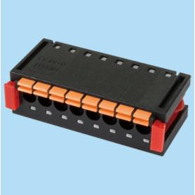BC018412 / Card edge spring terminal block - 3.50 mm