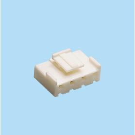 5050 / Caja para terminal de engaste polarizada y anclada - Paso 5,00 mm