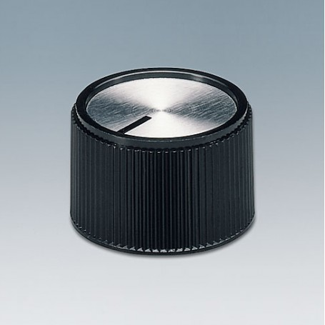A1324260 / TUNING KNOB - PF (UL 94 V-0) - black/alu - 24