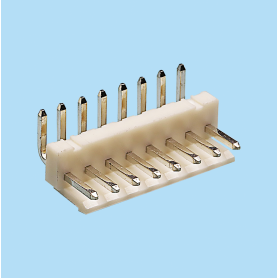 5052 / Regleta acodada polarizada con anclaje - Paso 5,00 mm