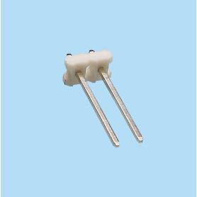 5087 / Regleta recta moldeada PIN cuadrado - Paso 5,08 mm