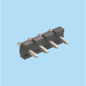 5071 / Regleta recta moldeada PIN cuadrado - Paso 5,08 mm