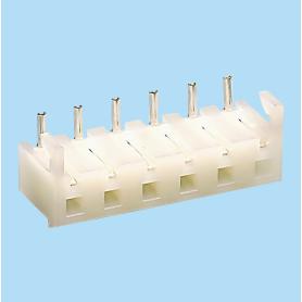 1508 / Conector acodado hembra PCB - Paso 5,08 mm