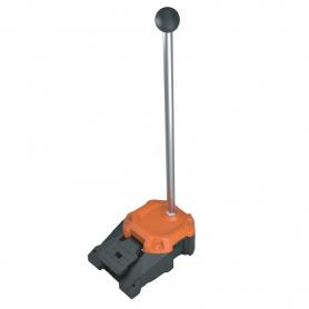 6256 / Interruptor de pedal de alta resistencia HEAVY DUTY con mango esférico