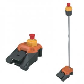 6256 / Heavy Duty: Pedal de servicio pesado con parada de emergencia