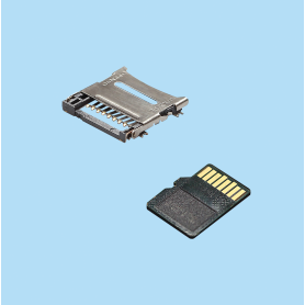 5518 / Conector MICRO SD tipo bisagra