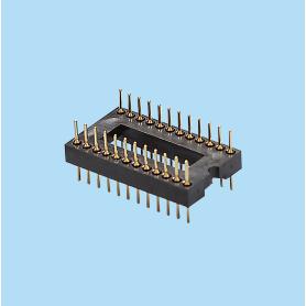 8427 / Zócalo IC de contacto mecanizado
