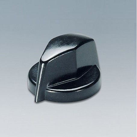 A1311860 / TUNING KNOB - PF (UL 94 V-0) - black RAL 9005 - 18