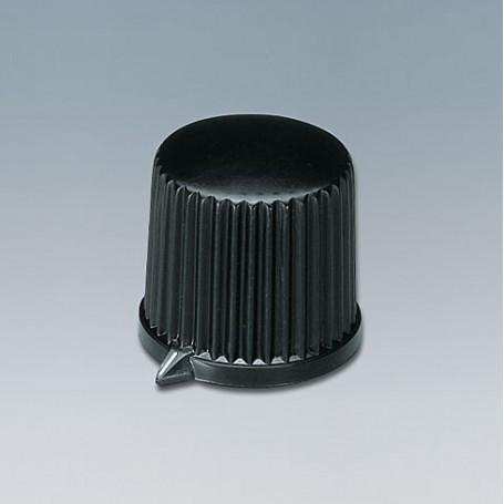 A1312560 / TUNING KNOB - ABS (UL 94 HB) - black RAL 9005 - 20