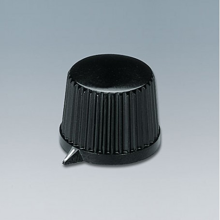 A1313540 / TUNING KNOB - PF (UL 94 V-0) - black RAL 9005 - 20x15