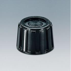 A1319260 / TUNING KNOB - PF (UL 94 V-0) - black RAL 9005 - 18