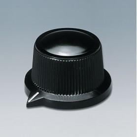 A1319560 / TUNING KNOB - PF (UL 94 V-0) - black RAL 9005 - 29x20