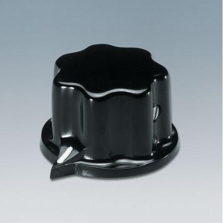 A1321060 / TUNING KNOB - PF (UL 94 V-0) - black RAL 9005 - 31x20mm 6mm
