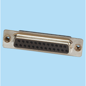 8003 / Conector hembra SUB-D recto engaste a cable