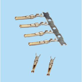 8502-8504 / Terminal hembra SUB-D de engaste