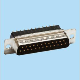 8018 / Conector macho SUB-D recto PCB