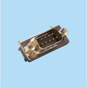8099 / Conector macho SUB-D acodado SLIM