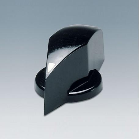 A1324860 / TUNING KNOB - PF (UL 94 V-0) - black RAL 9005 - 25x20mm 6mm