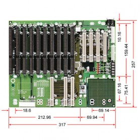 ACTI-14P4 / Backplanes PICMG1.0