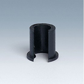 A1300040 / Insert - ABS (UL 94 HB) - black RAL 9005 - 7