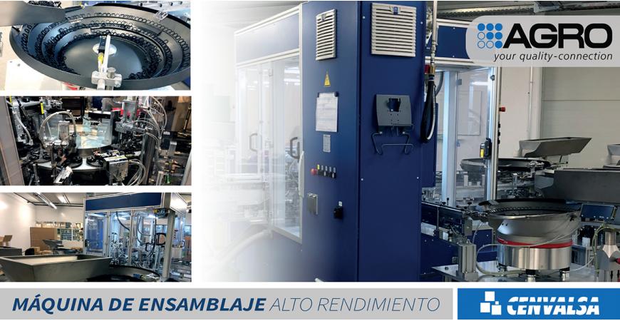 AGRO: Nueva máquina de ensamblaje de prensaestopas de alto rendimiento