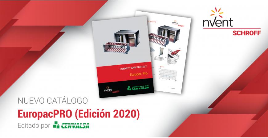 Nuevo catálogo: Europack Pro de SCHROFF