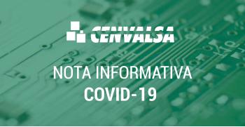 NOTA INFORMATIVA: COVID-19
