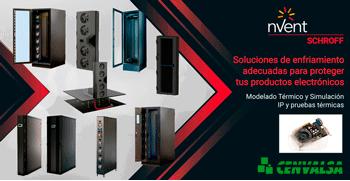 nVent SCHROFF: soluciones de enfriamiento para proteger sus productos electrónicos