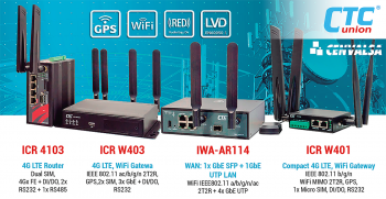 CTC Union: Comunicaciones Industrial 4G LTE y WIFI