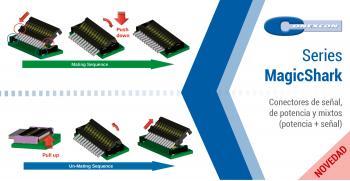 Conexcon: Nuevas series de conectores MagicShark