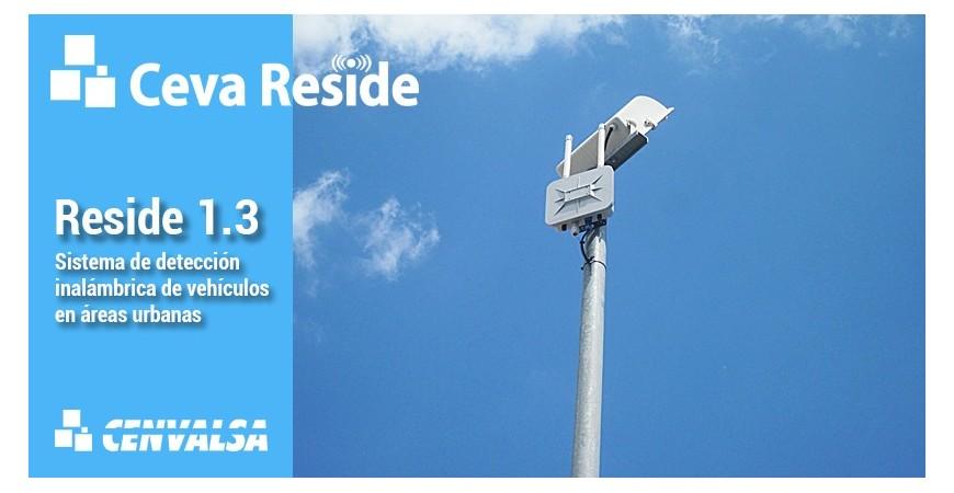 RESIDE 1.3: El sistema de detección inalámbrica de vehículos en áreas urbanas.