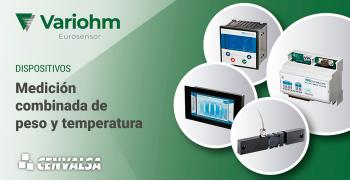 Variohm: Medición combinada de peso y temperatura